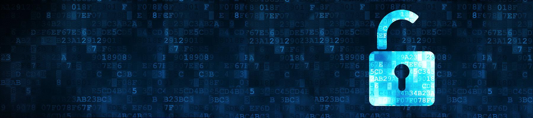Unlock Digital Information Image